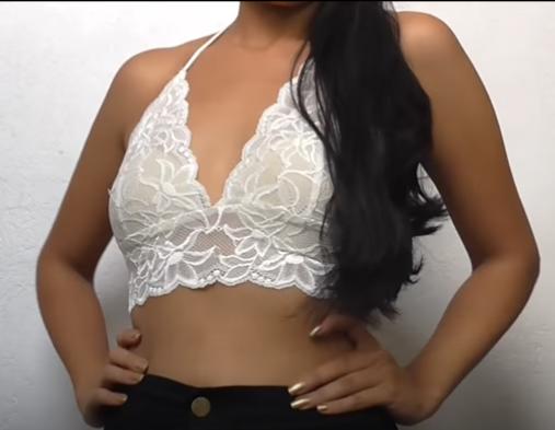 Como hacer corpi os de encaje sensuales y atrevidos for Como desmanchar ropa interior